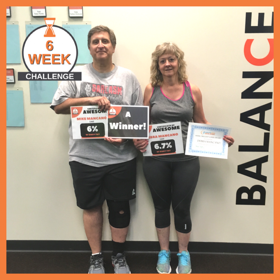 6 Week Challenge recent winners