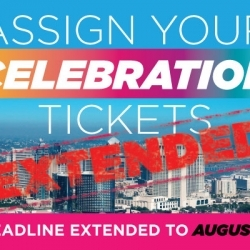 More Great Celebration News! Deadline Extended for Unassigned Tickets