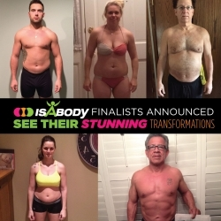 Meet Our Inspirational 2015 Celebration IsaBody Challenge Finalists!
